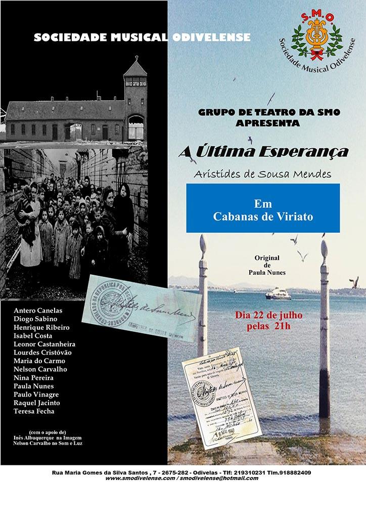 Grupo de Teatro em Cabanas de Viriato Dia 22 de julho