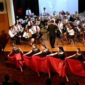 Sessão Solene SMO - 154º Aniversário: Banda & Academia Ballet Vita