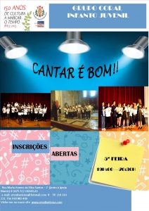 Cartaz Classe Canto