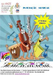 Cartaz Iniciação Musical