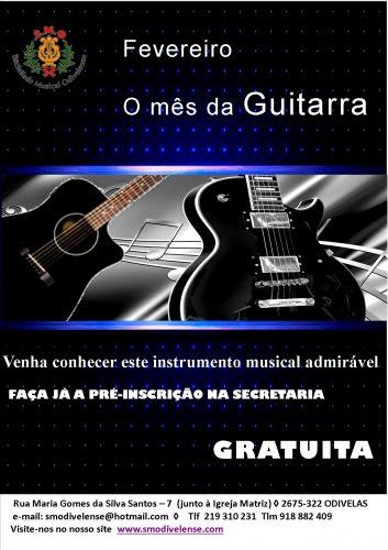 SMO - Cartaz Guitarra 2018