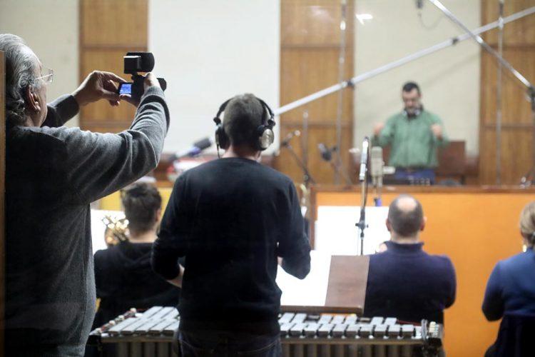 Gravação da Banda da S.M.O. com Fernando Tordo