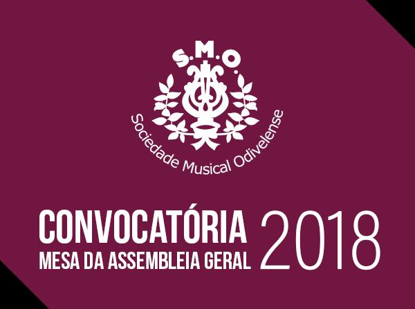 Convocatória Assembleia 2018