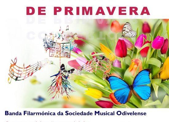Cartaz Concerto Primavera