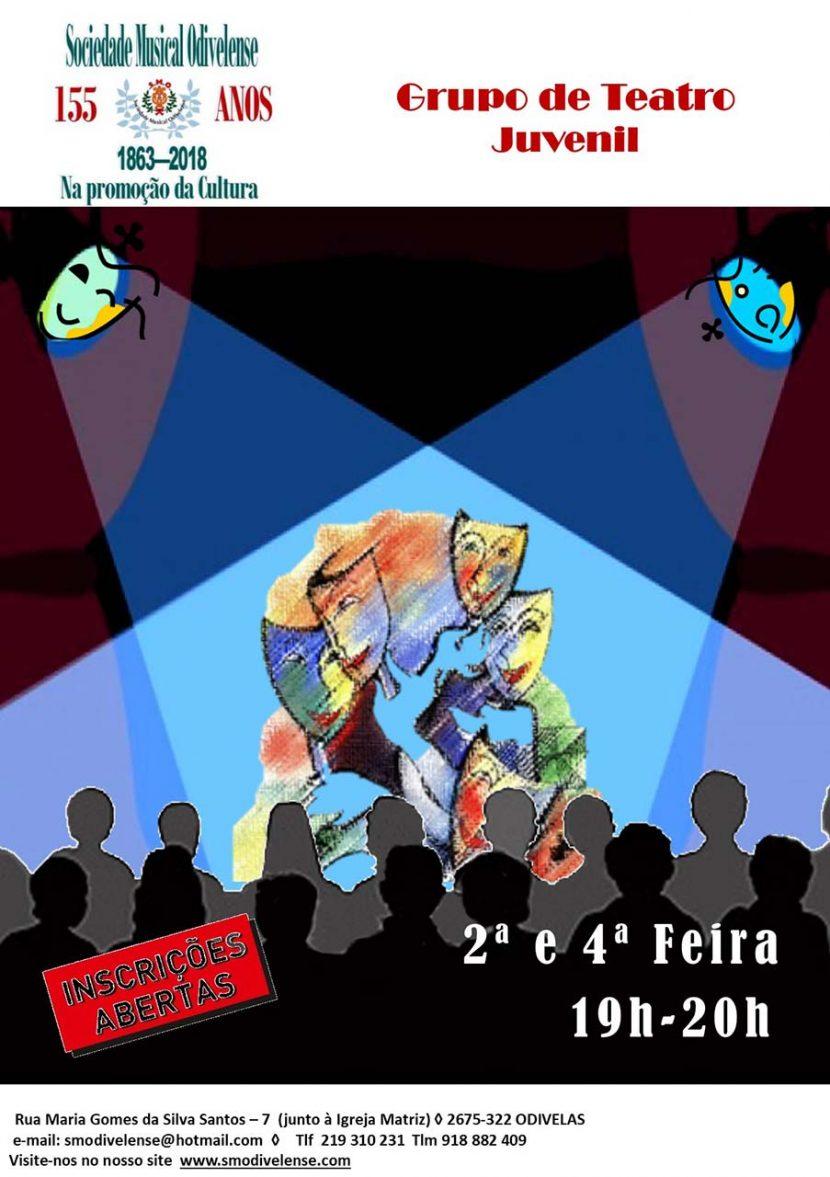 Cartaz Teatro Juvenil 2018
