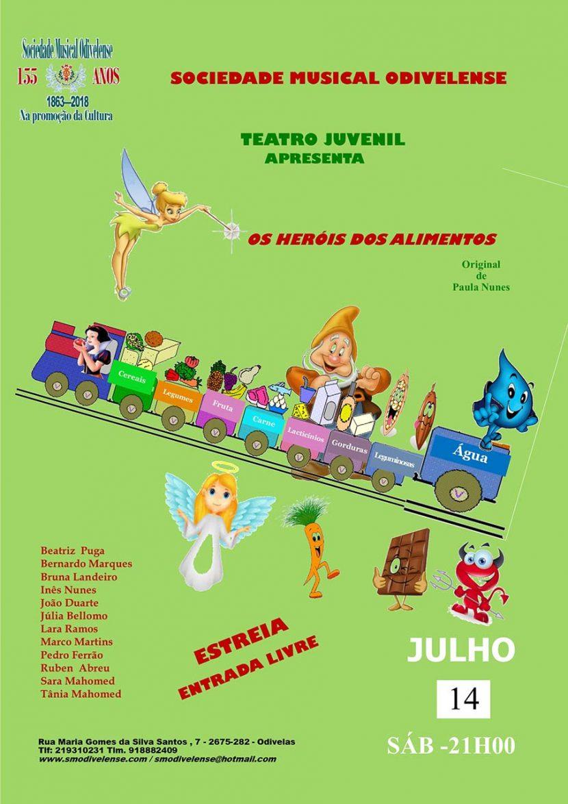 Cartaz Teatro Juvenil 14 Julho