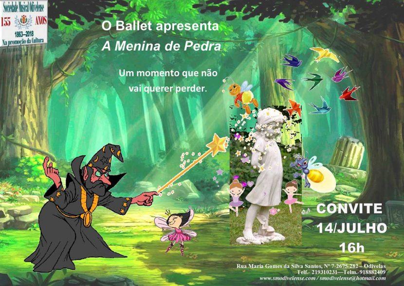 Convite Ballet 14 Julho 2018