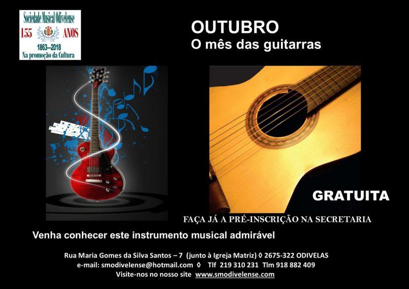 Outubro - Mês das Guitarras