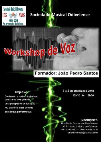 Workshop Voz Dezembro 2018