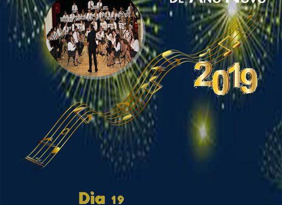Cartaz Concerto Ano Novo Banda