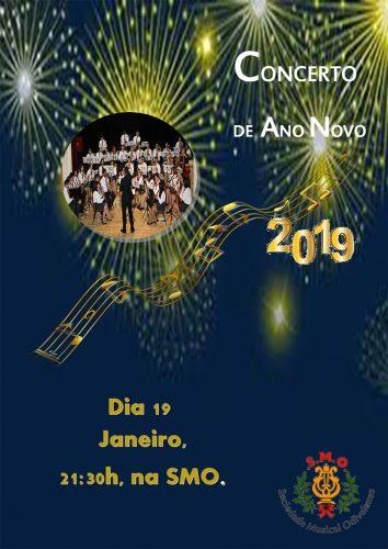 Cartaz Concerto Ano Novo 2019