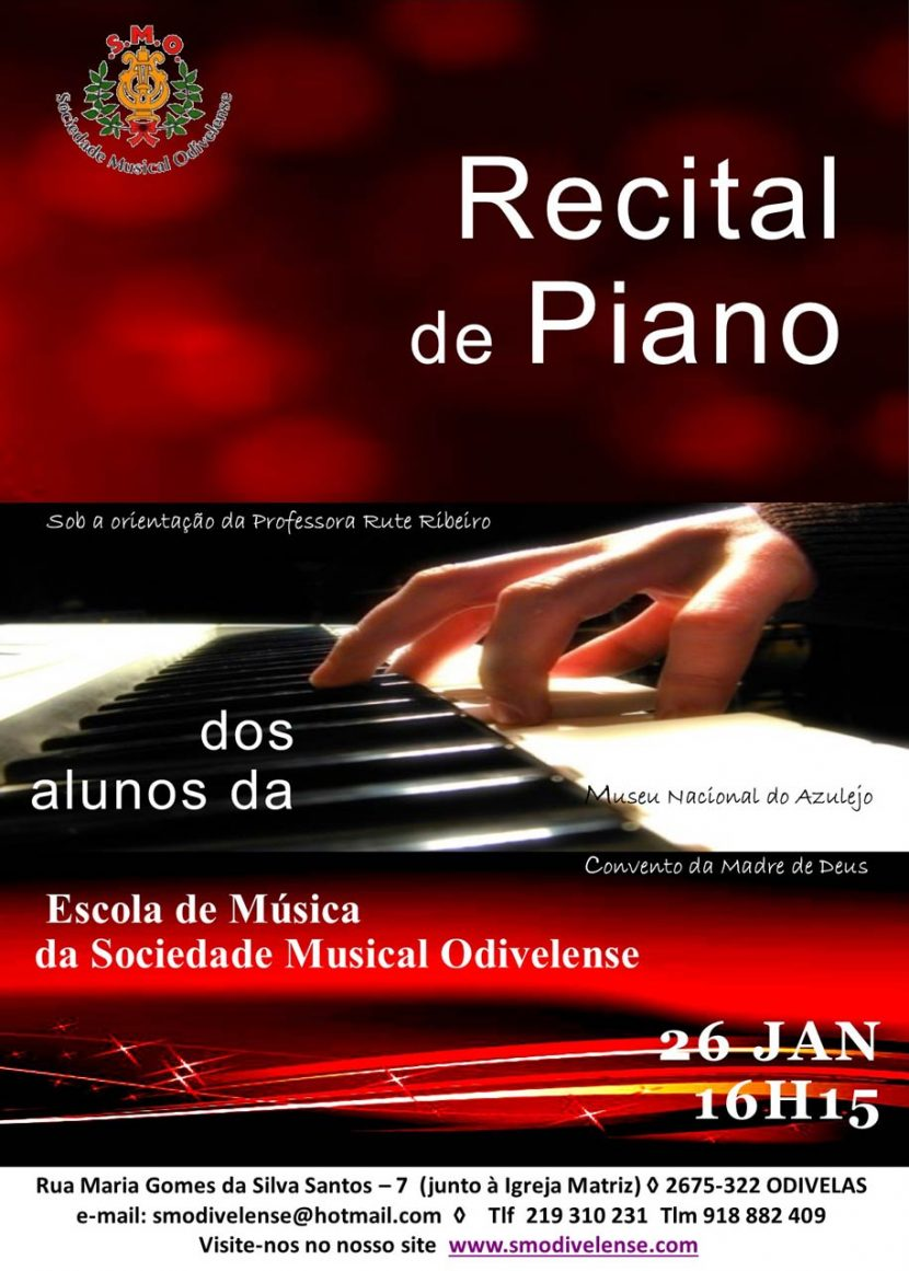 Recital de Piano - Museu do Azulejo