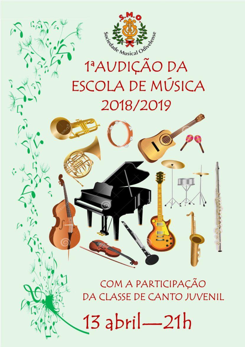1ª Audição Escola Musica 2019