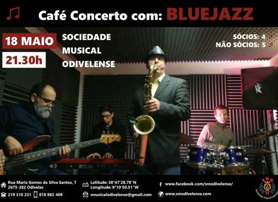 Cartaz Concerto dos Sentidos BlueJazz