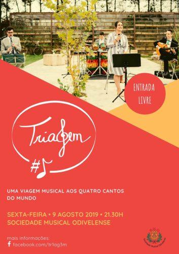 Cartaz Cafe Concerto Triagem Agosto 2019