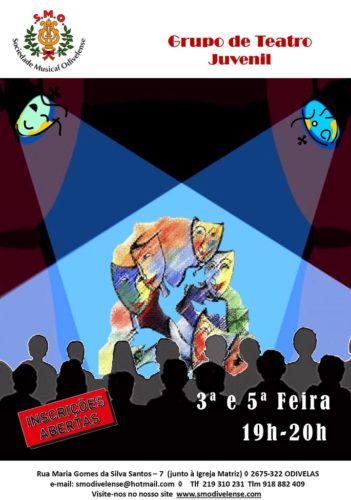 Cartaz Teatro Juvenil 2019/2020