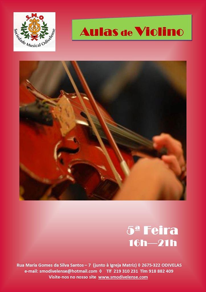 Cartaz Violino 2019/2020