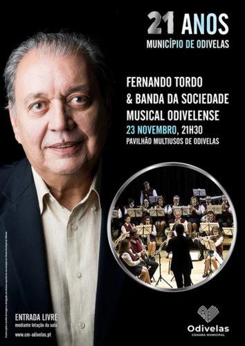 Concerto Fernando Tordo & Banda SMO 2019