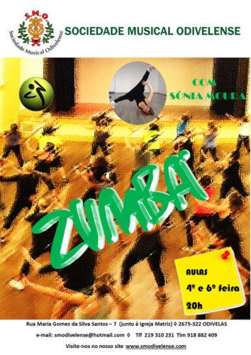 Cartaz Zumba 2019/2020
