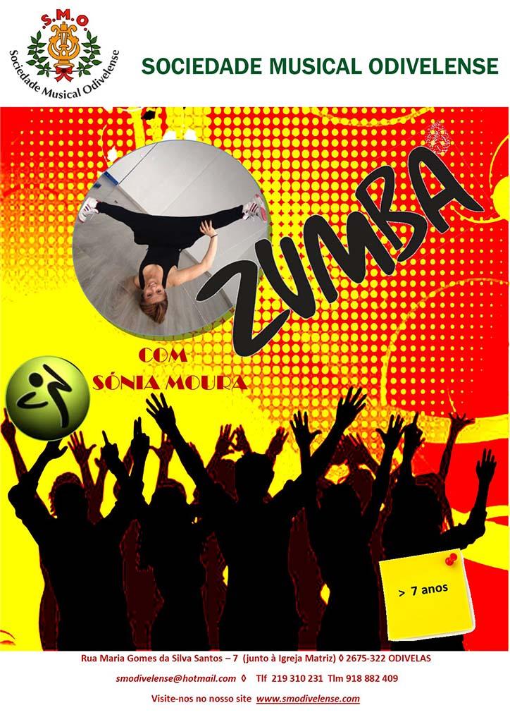2020 Cartaz Zumba