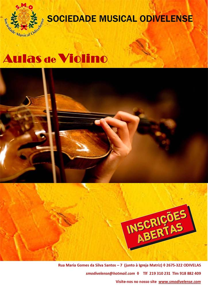 2020 Cartaz Violino