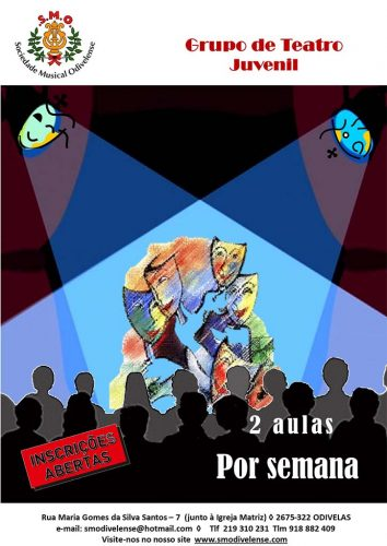 2020 Cartaz Teatro Juvenil