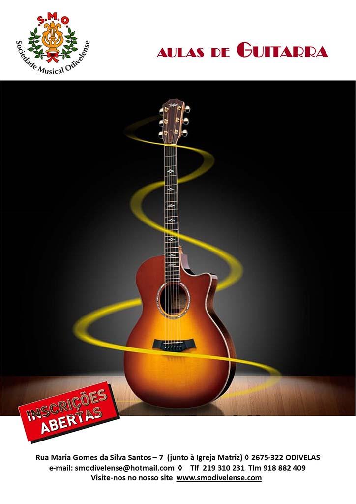 2020 Cartaz Guitarras