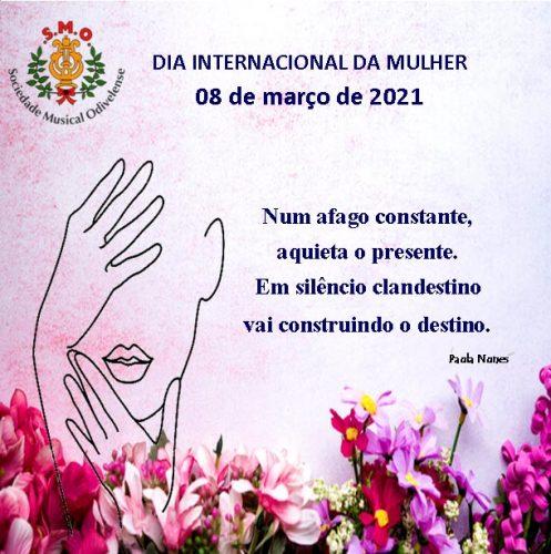 8 Março 2021- Dia Internacional da Mulher