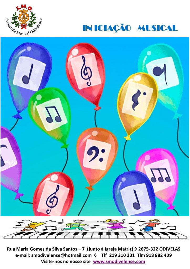 2021 Inscrições Iniciação Musical